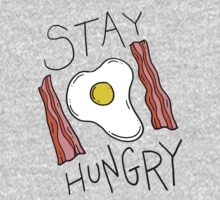Stay hungry -- bacon and eggs by DiabolickalPLAN