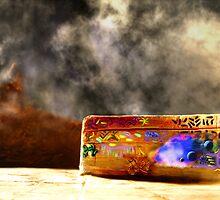 Graffiti on an Alien World, v.9, Edit B by NawfalNur