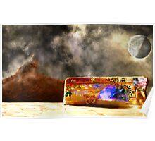 Graffiti on an Alien World, v.9, Edit B Poster