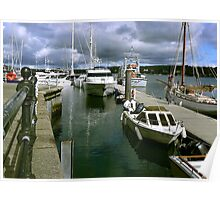 Port Pendennis Marina Falmouth. Poster