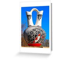 Acoma Pottery 2 Greeting Card