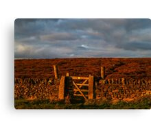 Gateway to the Moors Canvas Print