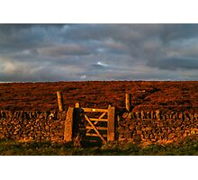 Gateway to the Moors Photographic Print