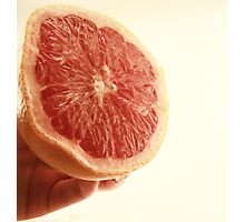 Grapefruit Goodness Photographic Print