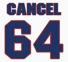 National baseball player Robinson Cancel jersey 64 by imsport