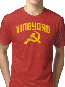 Vineyard Hammer & Sickle Tri-blend T-Shirt