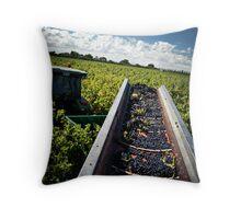 The Last Row of Harvest Throw Pillow