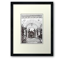 Arches in the Park by RD Riccoboni Framed Print