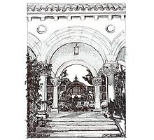 Arches in the Park by RD Riccoboni Photographic Print