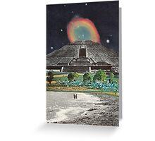 Mayan Vacation Spot Greeting Card