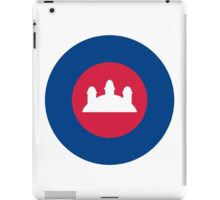 Royal Cambodian Air Force Roundel iPad Case/Skin