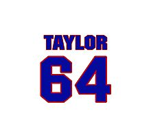 Hey, you must be a big fan of Taylor, if not pls search for your favourite players jersey to wear it proudly.  Photographic Print