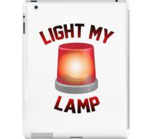 Light My Lamp iPad Case/Skin