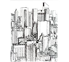 Big Apple Slice - Midtown Manhattan Photographic Print