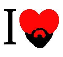 I Heart Beard. Photographic Print