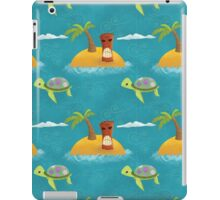 Turtles & Tikis iPad Case/Skin