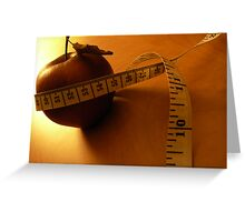 Bound by Tape Measure Greeting Card