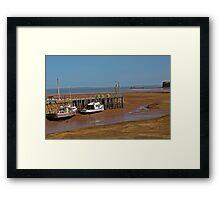 Tide's Out Framed Print