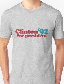 Clinton for President 1992 Unisex T-Shirt