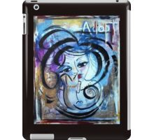 Animal Lover Painting Adoption Advocacy Loralai iPad Case/Skin