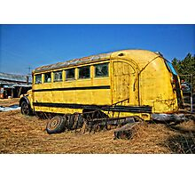 Transportation Cancelled Photographic Print