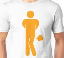 Funny Farting Restrooms / Toilet Sign Unisex T-Shirt