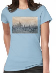 New York Skyline Womens Fitted T-Shirt