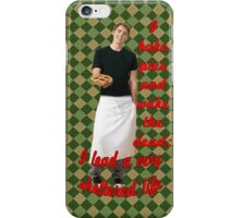 The Pie Maker iPhone Case/Skin