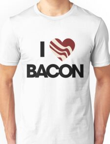 I love BACON Unisex T-Shirt