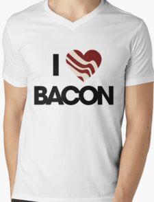 I love BACON Mens V-Neck T-Shirt