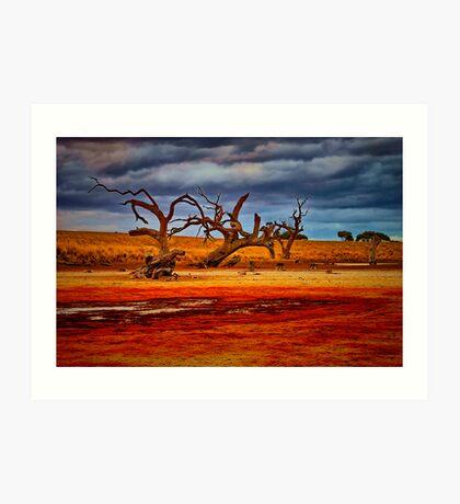 """Rusty Lakebed"" Art Print"