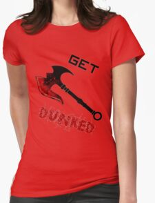 Darius Get Dunked Womens Fitted T-Shirt