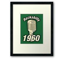 Vintage Rockabilly 1960 Framed Print