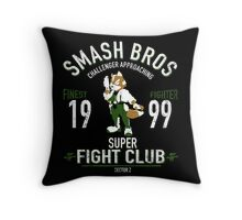 Sector Z Fighter Throw Pillow