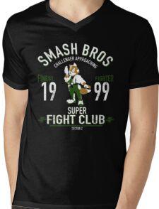 Sector Z Fighter Mens V-Neck T-Shirt