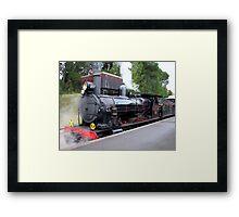 Steam Ranger - Mount Barker Framed Print