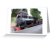 Steam Ranger - Mount Barker Greeting Card