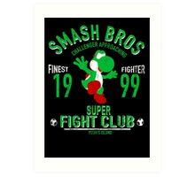 Yoshi Island Fighter Art Print