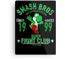 Yoshi Island Fighter Metal Print