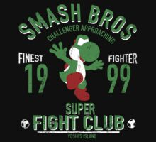Yoshi Island Fighter One Piece - Short Sleeve