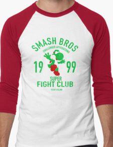 Yoshi Island Fighter Men's Baseball ¾ T-Shirt