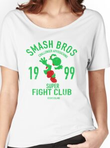 Yoshi Island Fighter Women's Relaxed Fit T-Shirt