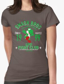 Yoshi Island Fighter Womens Fitted T-Shirt
