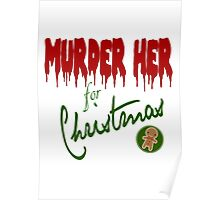 Murder Her For Christmas Poster