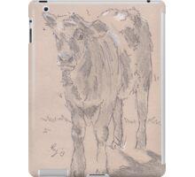 Calf Drawing iPad Case/Skin