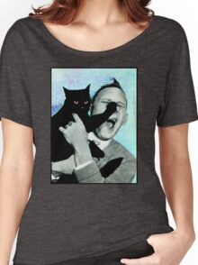 Evil Pussy  Women's Relaxed Fit T-Shirt