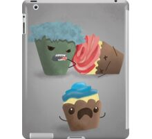 Zombie Cupcakes on the Loose iPad Case/Skin