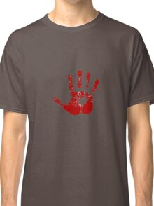 Red hand Classic T-Shirt