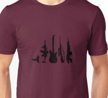 Guns and guitars Unisex T-Shirt