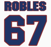 National baseball player Mauricio Robles jersey 67 by imsport